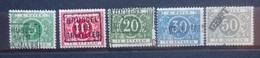 BELGIE   Strafport  1919   Tx  12 A - 16 A    Scharnier *    CW  350,00 - Briefmarken