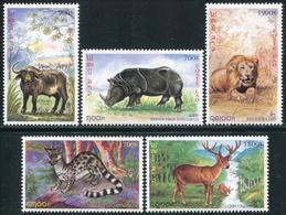 227- Laos 1999 YT 1356-60 ; Mi# 1676-80 **  MNH  Faune - Laos