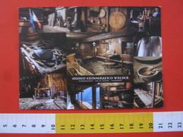 CA.16 ITALIA CARTOLINA CARD - 2010 RIVA VALDOBBIA VERCELLI VALSESIA VAL VOGNA MUSEO ETNOGRAFICO WALSER REBERNARDO - Musei