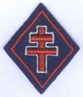 Insigne Losange De Bras Croix De Lorraine - Scudetti In Tela