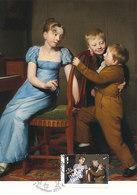 D38941 CARTE MAXIMUM CARD FD 2014 NETHERLANDS - PIANO PRACTICE BY VAN DER KOOI 1813 CP ORIGINAL - Kunst