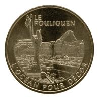 Monnaie De Paris , 2011 , Le Pouliguen , L'océan Pour Décor - Monnaie De Paris