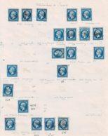 Lot7- Oblitérations De SAVOIE - Marcophily (detached Stamps)