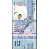 TWN - ARUBA NEW - 10 Florin 1.1.2019 Prefix A UNC - Aruba (1986-...)
