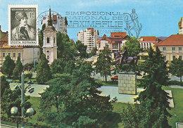 D38945 CARTE MAXIMUM CARD 1985 ROMANIA - AVRAM IANCU LAWYER REVOLUTIONARY - POSTMARK MAXIMAPHILIE CP ORIGINAL - Beroemde Personen