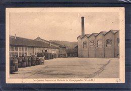 54. Champigneulles. Les Grandes Brasseries Et Malteries. Cour Intérieure - Andere Gemeenten