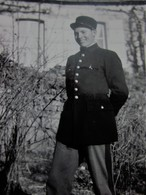 MILITARIA -DOUANE DOUANIER A AUBENTON AISNE  Photographie Photos  -Photo Originale Ordre Privé - War, Military