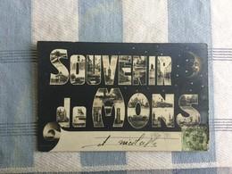SOUVENIR DE MONS 1906   LUNE !! - Mons