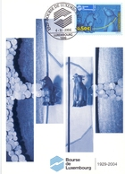LUXEMBOURG BOURSE POST CARD MAXIMUM  (GENN201295) - Cartoline Maximum