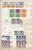 Thematik: Spiele-Schach / Games-chess: 1950/2000 (ca.), Collection/accumulation Of Thematic Stamps A - Schach