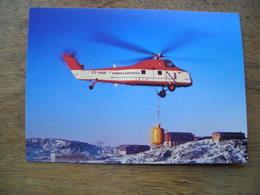 Répresentation Du Timbre, Sikorsky SS8ET Hélicoptère - Groenland