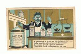 Chromo Publicitaire - Désinfectant, Savon CRESYL - JEYES - Laboratoire, Chimiste,... (fr82) - Cromos