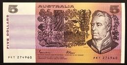 Australia  5 Dollars 1991 UNC Pick#44e Lotto.1883 - Emissioni Governative Decimali 1966-...