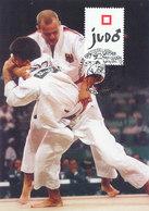 D38952 CARTE MAXIMUM CARD 1997 BELGIUM - JUDO CP ORIGINAL - Judo