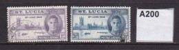 St Lucia 1946 Victory - St.Lucia (...-1978)