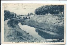 ROANNE - Rivière Et Pont Rue Hoche - N°10 Artaud - Vve Prieur édit. - Vente Directe X - Roanne