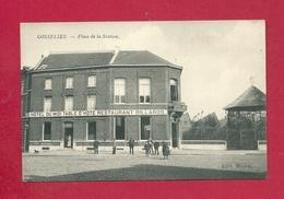 C.P. Gosselies =  Place   De La STATION  Hôtel  De MIDI Table D' Hote - Restaurant - Billards - Charleroi