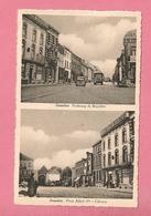 C.P. Gosselies =  Place   Des Martyrs  +  Rue  Modeste Cornil - Charleroi