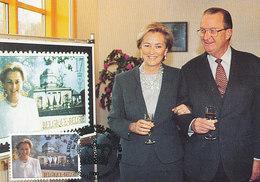 D38965 CARTE MAXIMUM CARD 1997 BELGIUM - QUEEN PAOLA CP ORIGINAL - Maximum Cards