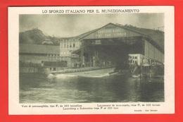 Spezia Cantiere San Giorgio Gruppo Ansaldo Fiat Varo Sottomarino U-boat Sommergibili - Sous-marins