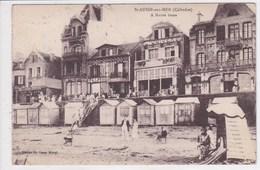 14 SAINT AUBIN Sur MER A Marée Basse ,cabines De Plage - Saint Aubin