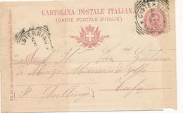 1903 CISTERNINO BARI PUGLIA TONDO RIQUADRATO CON TESTO - 1900-44 Victor Emmanuel III