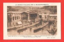 Spezia Darsena Cantiere San Giorgio Ansaldo Fiat Sottomarini U-boat Sommergibili - Sous-marins