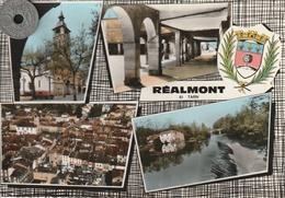 81  - Carte Postale Semi Moderne Dentelée De     REALMONT     Multi Vues - Realmont