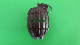 Grenade à Main Défensive Anglaise N° 36 MKI Ww2 - Armi Da Collezione