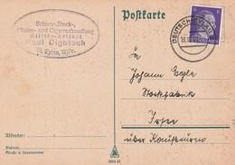 Deutsches Reich / 1941 / Stegstempèl DEUTSCH-EYLAU Auf Postkarte (5586) - Marcofilie - EMA (Print Machine)