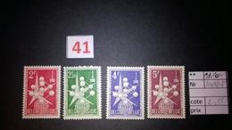 Timbres Anciens Vendus à 20% De La Valeur Catalogue  COB 1008/1010** - Ongebruikt