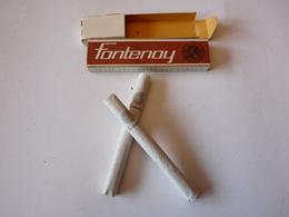 Un échantillon Vintage De   2 Cigarettes Fontenoy Regie Francaise Des Tabacs - Cigarettes - Accessoires