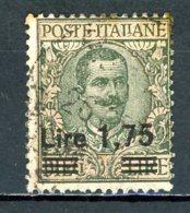 Italie   Y&T   174    Obl    ---    Parfait état. - Oblitérés