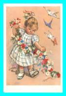 A779 / 541 ILLUSTRATEUR A. Landrino ( Enfant Fillette ) - Illustrators & Photographers