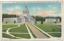 0385 - USA - WASHINGTON - OLYMPIA - TEMPLE OF JUSTICE - Etats-Unis