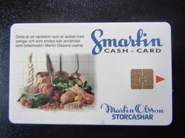 RARE   CASH CARD SWEDEN - Suède