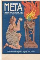 Cartolina - Postcard / Non Viaggiata - Unsent / Meta Combustibile Solido. - Publicité