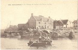 Dépt 29 - CONCARNEAU - Le Passage De Lauriec - Le Départ Du Bac - (Collection Villard, N° 206) - Concarneau