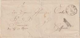Thurn Und Taxis / 1847 / Vorphila-Briefhuelle K1 CASSEL, L2 VERSPAETETE AUSGABE (5596) - Germania