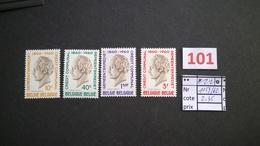 Timbres Anciens Vendus à 20% De La Valeur Catalogue  COB 1159/1162** - Unused Stamps