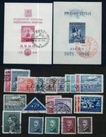 1946 Full Year - Fine Used - Checoslovaquia