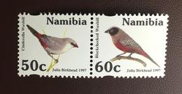 Namibia 1997 Waxbills Birds MNH - Vögel
