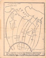 WWII WW2 Propaganda Leaflet Flugblatt Tract Italian  CODE I.E., Mussolini Lo Chiese…  FREE SHIPPING WORLDWIDE - Alte Papiere