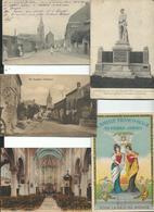 Lot De 5 Cartes  Amities Franco Belge,  Preseau, ,St Souplet , Phalempin , Mortagne Du Nord - France