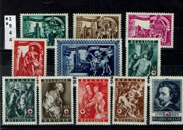 1944 - 2 Séries: Saint-Martin V Et Van Dijk - Ongebruikt