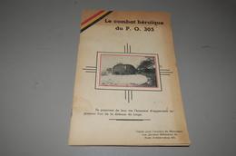 Petit Livres Le Combat Heroique P O 305 - Documentos