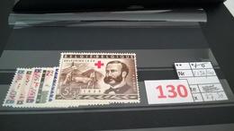 Timbres Anciens Vendus à 20% De La Valeur Catalogue  COB 1096/1101** - Bélgica