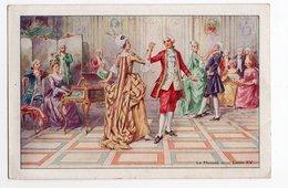 DANSE * DESSIN * LE MENUET SOUS LOUIS XV * CLAVECIN * VIOLON*PUB DORSALE LE GAULOIS * ETS BERGOUGNAN, Clermont-Ferrand - Danses
