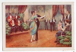 DANSE * DESSIN * LE TANGO * MUSICIENS NOIRS AMERICAINS *PUB DORSALE LE GAULOIS * ETS BERGOUGNAN, Clermont-Ferrand - Danses
