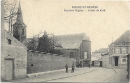 Sint-Genesius-Rode  -  Rhode-St.-Genèse   *  Derrière L'Eglise  - Achter De Kerk - Rhode-St-Genèse - St-Genesius-Rode
